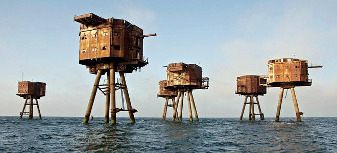 Заброшенные морские форты Маунселла (7 фото)