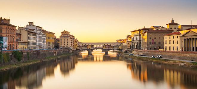 Мост Понте Веккьо во Флоренции (9 фото)