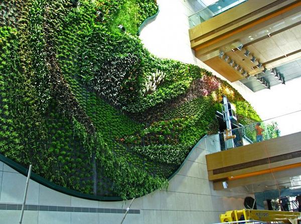 Патрик Бланк и его вертикальные сады