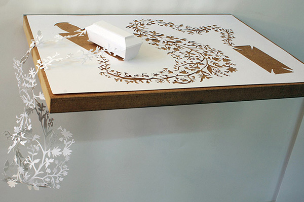 Петер Каллесен и его бумажный арт