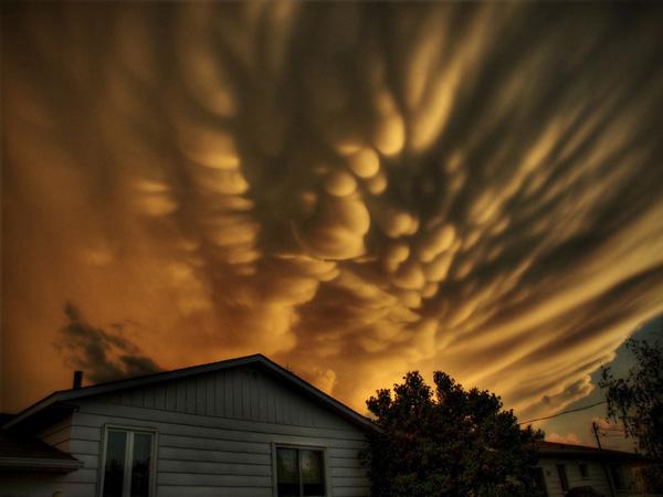 Самые красивые облака