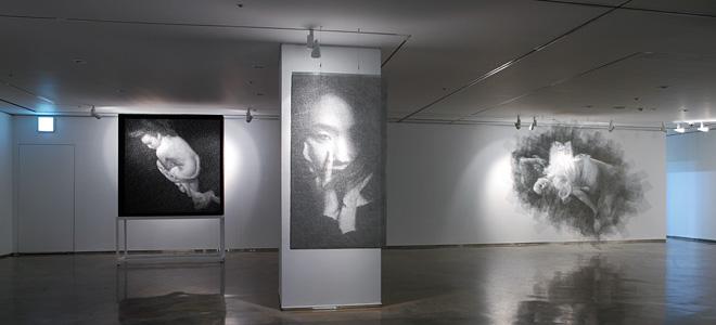 Сон Мо Парк и его портреты из проволоки (11 фото)