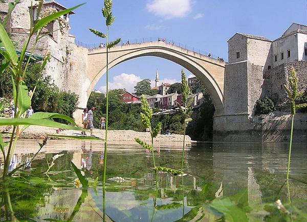 Старый мост в городе Мостар
