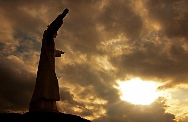 Статуя Христа Царя в Польше