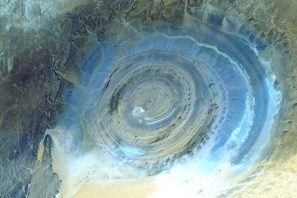 Структура Ришат - глаз пустыни Сахара
