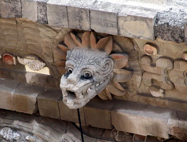 Заброшенный город майя Теотиуакан