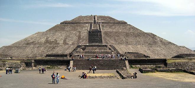Теотиуакан — заброшенный город майя (5 фото)