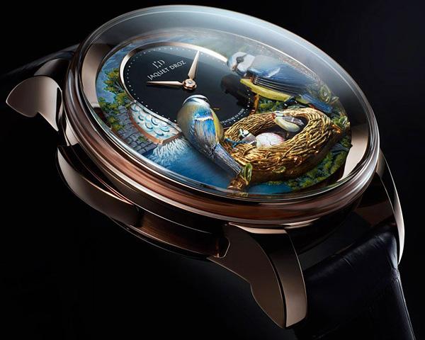 Удивительные часы The Bird Repeater