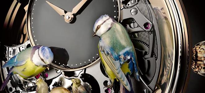 Удивительные часы The Bird Repeater (11 фото)
