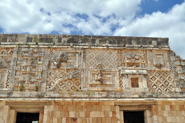 Руины города древних майя Ушмаль