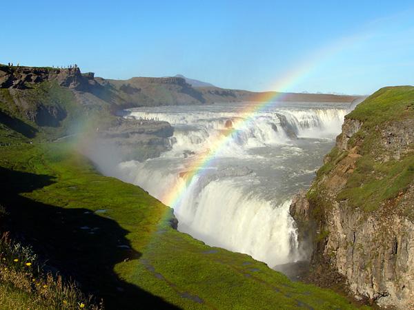 Водопад Гюдльфосс на реке Хвитау (9)