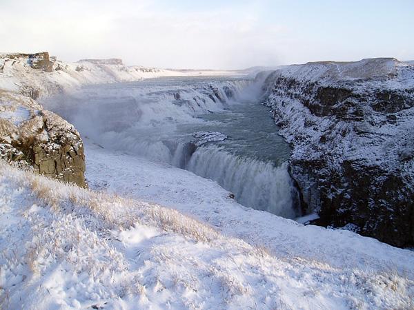 Водопад Гюдльфосс на реке Хвитау (7)