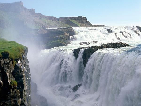 Водопад Гюдльфосс на реке Хвитау (6)