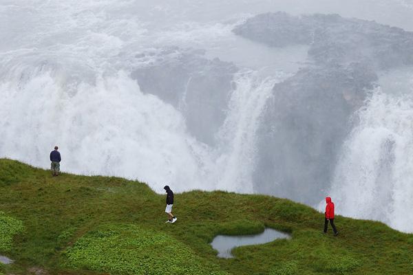 Водопад Гюдльфосс на реке Хвитау (3)