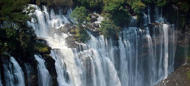 Водопад Каландула в Анголе (5 фото)