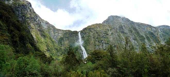 Водопад Сазерленд в Новой Зеландии (7 фото)