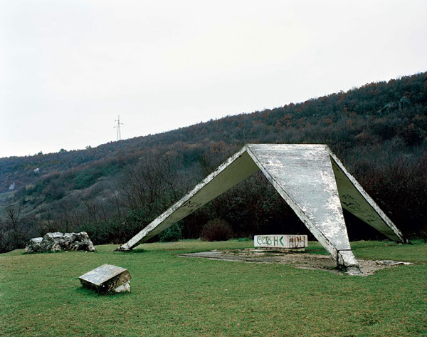 Заброшенные монументы на Балканах