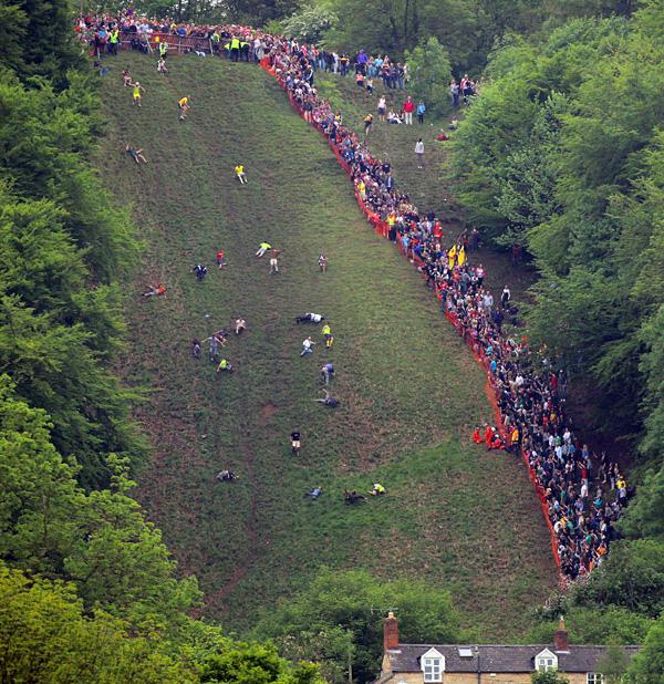 Бег за сыром в Глостершире