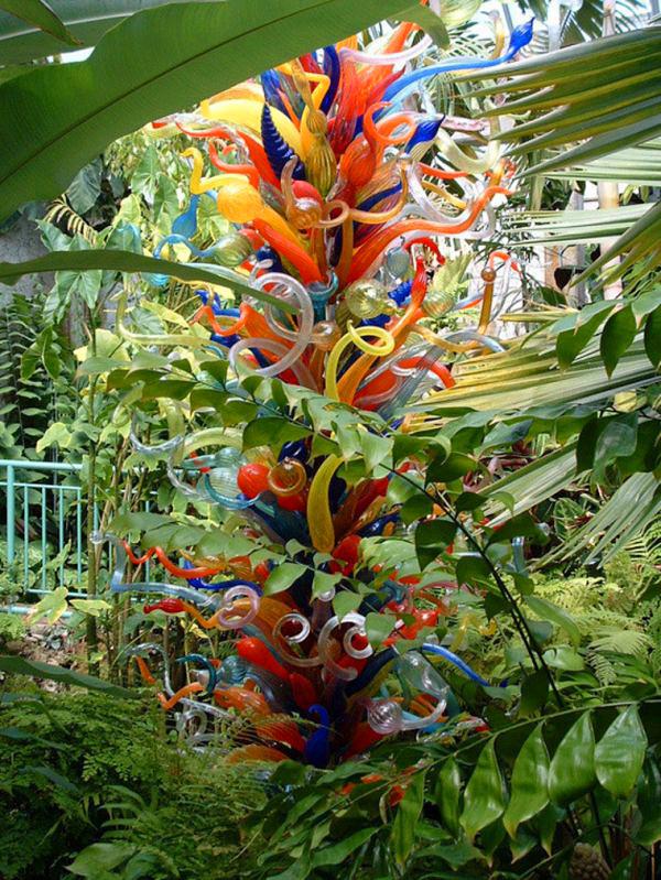Дейл Чихули и его Стеклянный сад