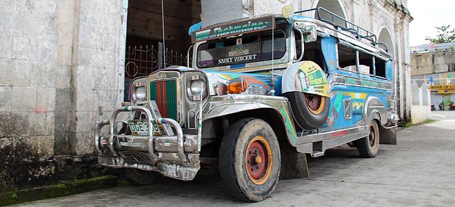 Джипни — общественный транспорт Филиппин (13 фото)