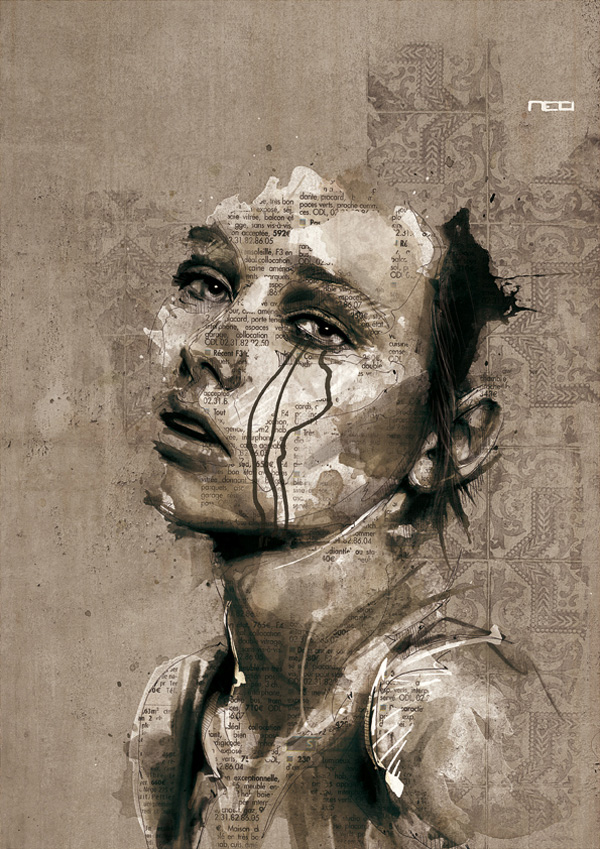 Флориан Николь и его небрежные картины