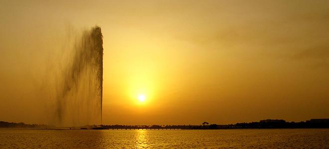 Фонтан короля Фахда — самый большой в мире (7 фото)