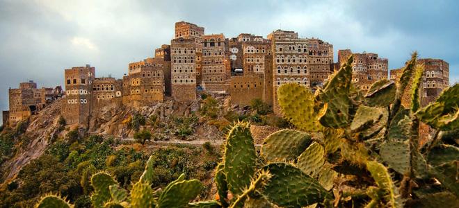 Город Аль Хаджара в Йемене (13 фото)