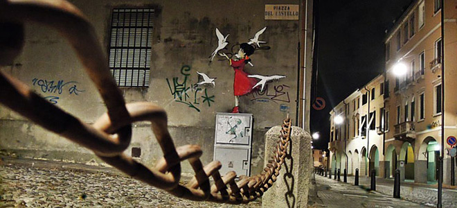 Кенни Рэндом и его добрый стрит-арт (15 фото)