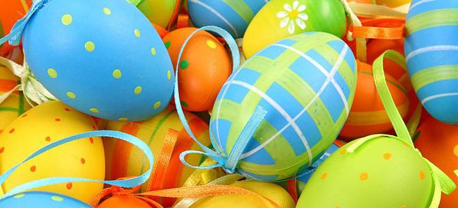 Красивые пасхальные яйца (15 фото)