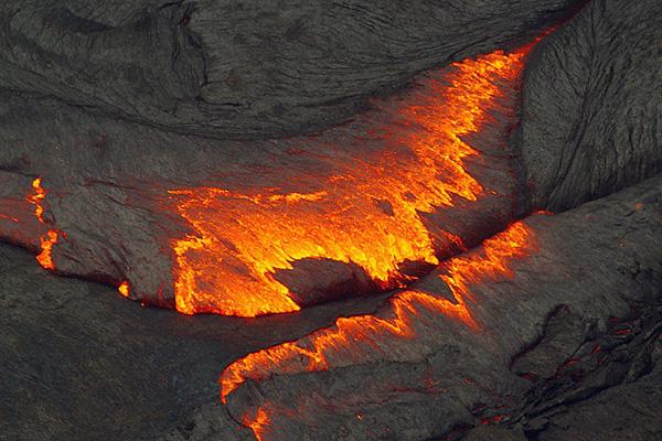 Лавовое озеро вулкана Эрта Але