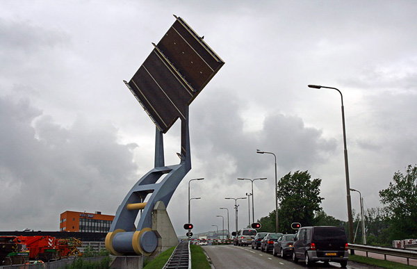 Подъемный мост Слауэрхоф в Нидерландах