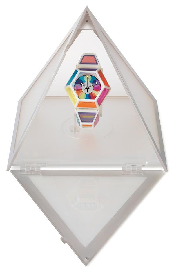 Радужные часы Swatch от Фред Батлер