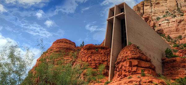 Chapel In The Rock - часовня в скалах Аризоны