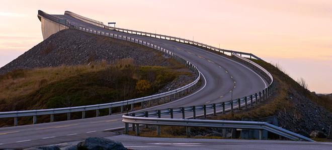 Сторсесундетский мост «в никуда» (5 фото)