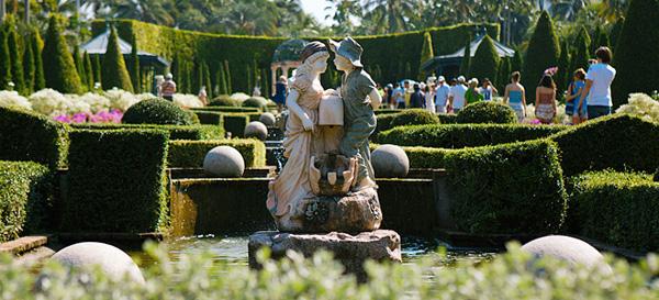 Тропический сад Нонг Нуч в Тайланде