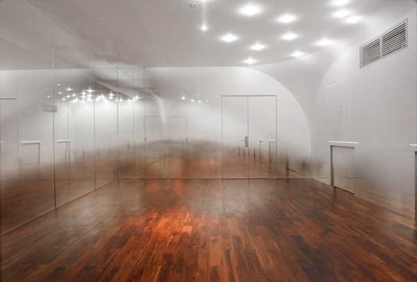 Foggy room