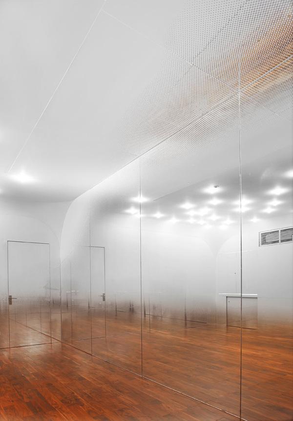 Туманная студия танца от Йохимаса Цуцуми