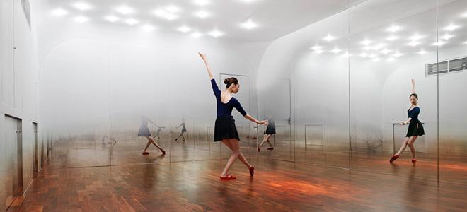 Туманная студия танца от Йохимаса Цуцуми (7 фото)