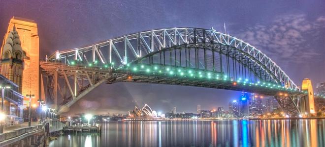 Харбор-Бридж — один из символов Сиднея (7 фото)