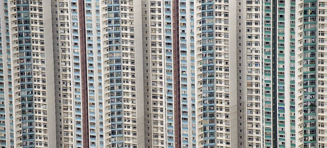 Жилые высотки Гонконга (11 фото)