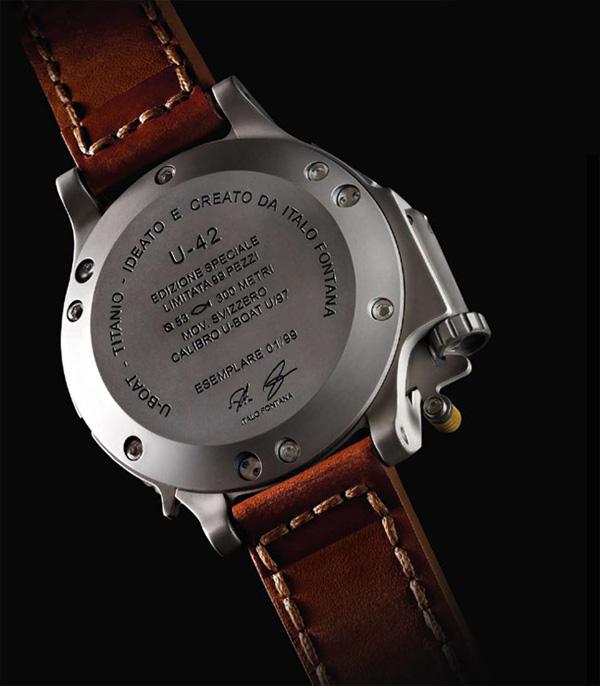 Лимитированная серии часов U-42 от U-Boat
