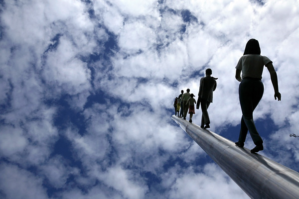 Джонатан Борофски и Прогулка в небо