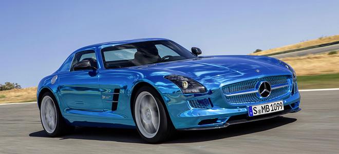 Mercedes SLS AMG — самый мощный электромобиль (15 фото)