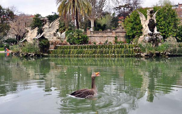Парк Цитадели в Барселоне