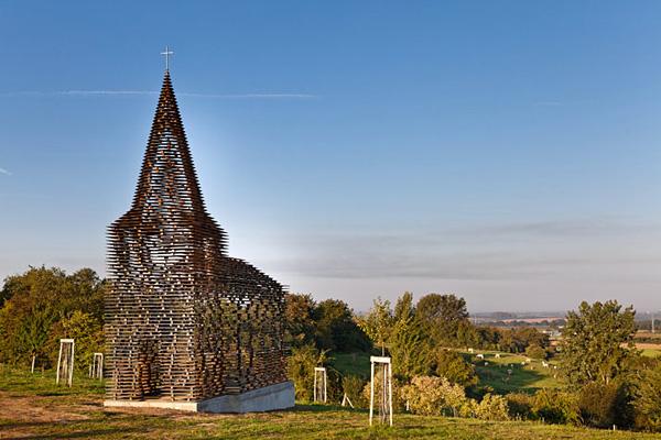 Прозрачная церковь в Лимбурге