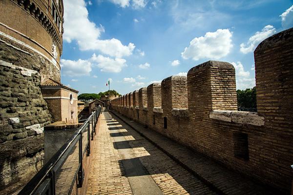 Замок Святого Ангела в Риме