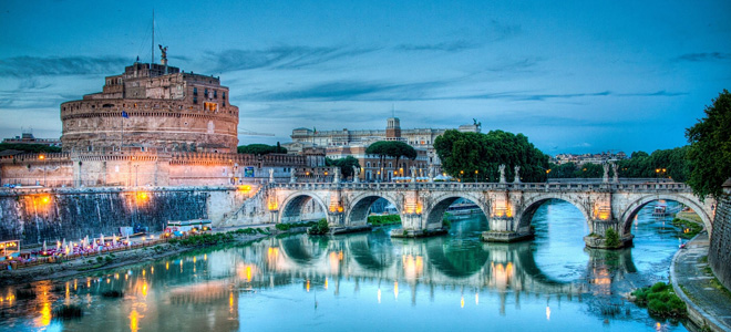 Замок Святого Ангела в Риме (9 фото)