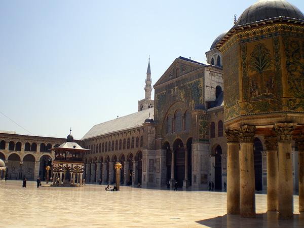 Большая мечеть Омейядов в Дамаске