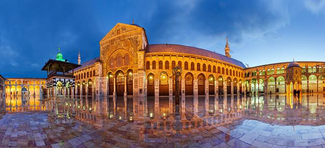 Большая мечеть Омейядов в Дамаске (15 фото)