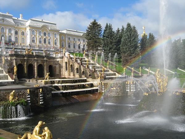 Петергоф и его дворцы парки и фонтаны